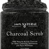 Natural Detoxifying Charcoal Foot Scrub