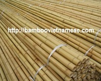 Decorate dry straight strong bamboo poles