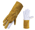 Cow Split & Grain Leather Welder Gloves