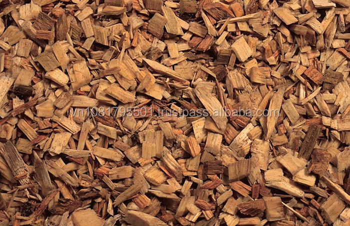 Rubber Wood Chips / Acacia Wood Chips Korean With Low Moisture / Vietnamese Wood Chips For Sale