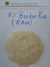 Supplier of Indian 5 % Broken Parboiled Rice Top Quality
