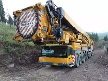 used liebherr 1200t ton crane , liebherr 120t ton crane with good condition , manufacturing German
