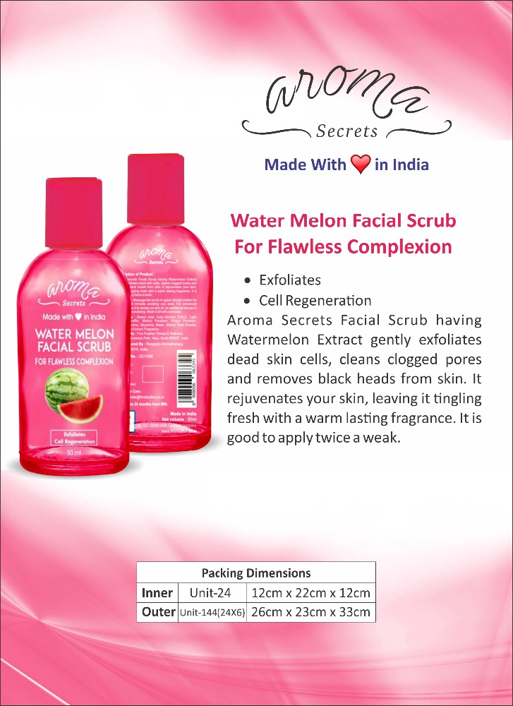 WATERMELON FACIAL SCRUB