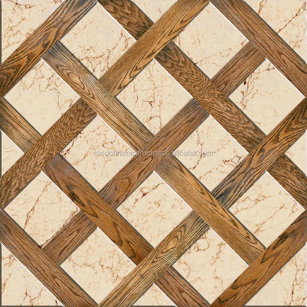 Handmade floor tiles