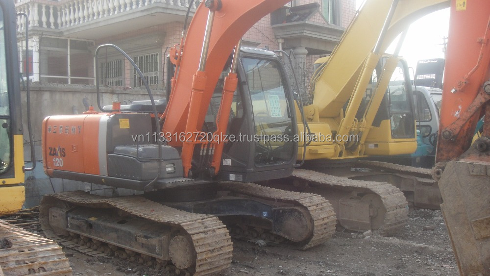 Hitachi ZX120-6 used excavator ,12 ton construction machinery