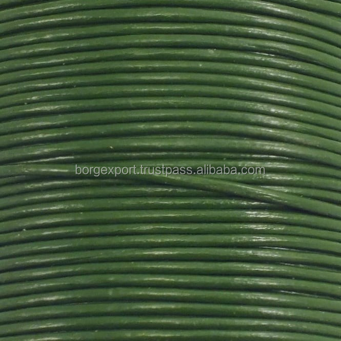 1mm Round Leather Cord From BORG EXPORT / Round Leather Cord 1 mm