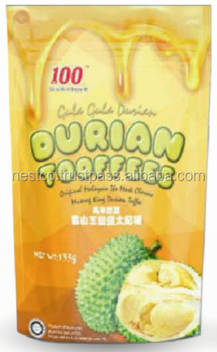 Halal Durian Toffee Candy from Malaysia