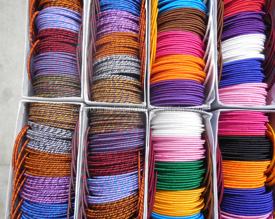 Silk Thread Bangles / Indian Bangles