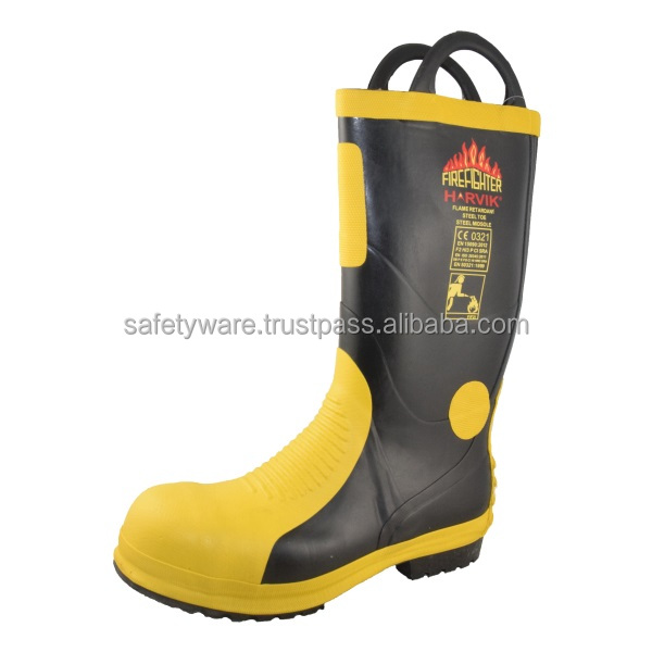 HARVIK Fire Fighting / Dielectric Safety Boots