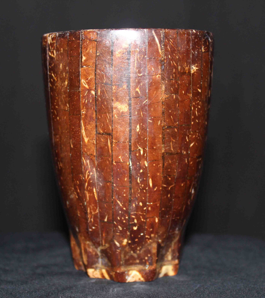 Unique Coconut Shell Glass Handmade