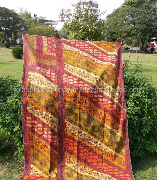 kantha quilts for sale