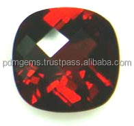 Red Garnet Faceted Loose Mozambique Semi Precious Garnet Gemstone