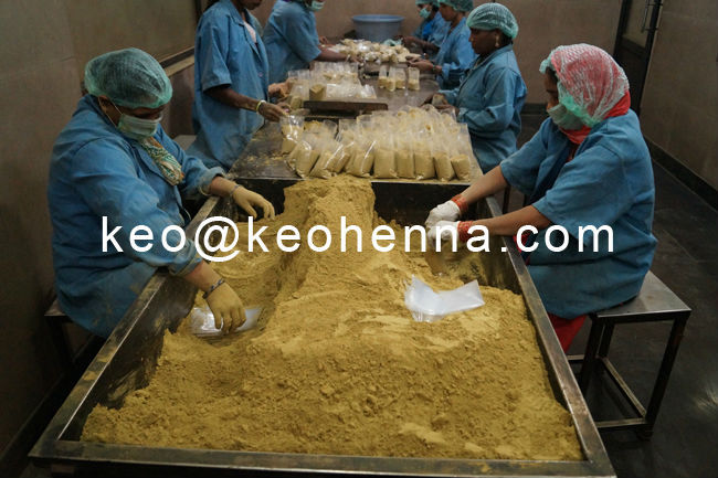 Manufacturer Online Marketer of Hair Organic  in 100 gms Packing Indian Henna Dye Powder