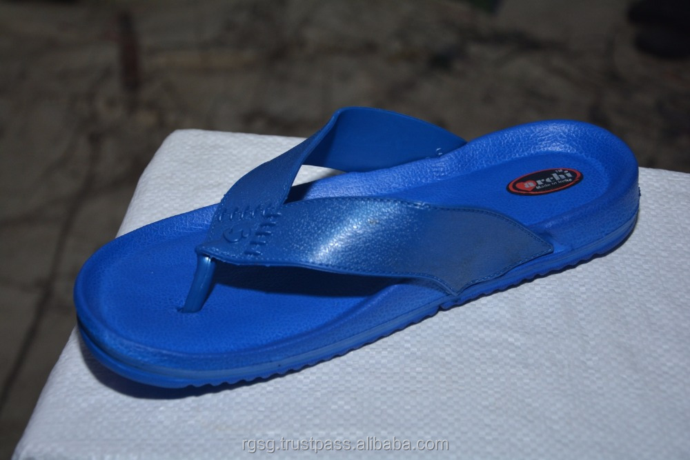 Archi GE -001 Indian Comfortable Fashion Beautiful Designer Men EVA UK Size - 6 ,7 , 8 , 9 Blue , Green , Red and Sky Blue