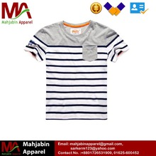 High quality EUROPEAN STYLE cheap customized brand logo stylish casual blank cotton Kids t shirt