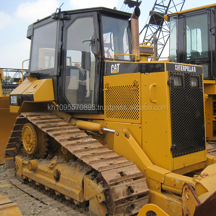 Cheap used Japan D5M bulldozer for sale in China