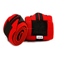 High Quality Heavy-duty Weightlifting Wrist Wraps Manufacturing Company...