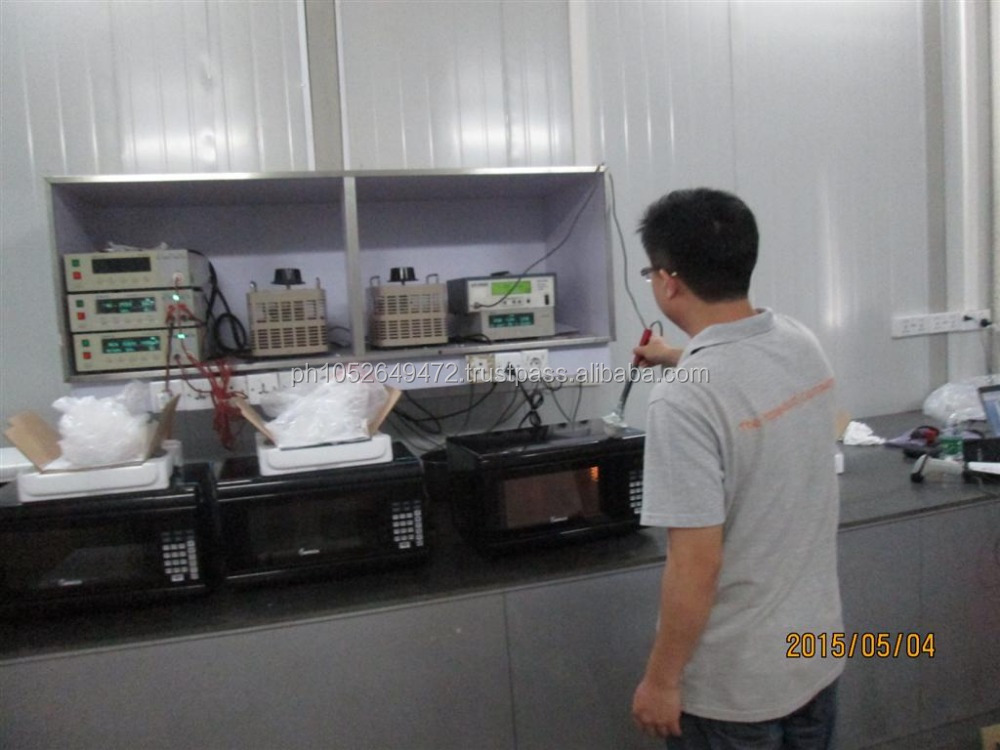 Pre-Shipment Inspection for Microwave Oven in China
