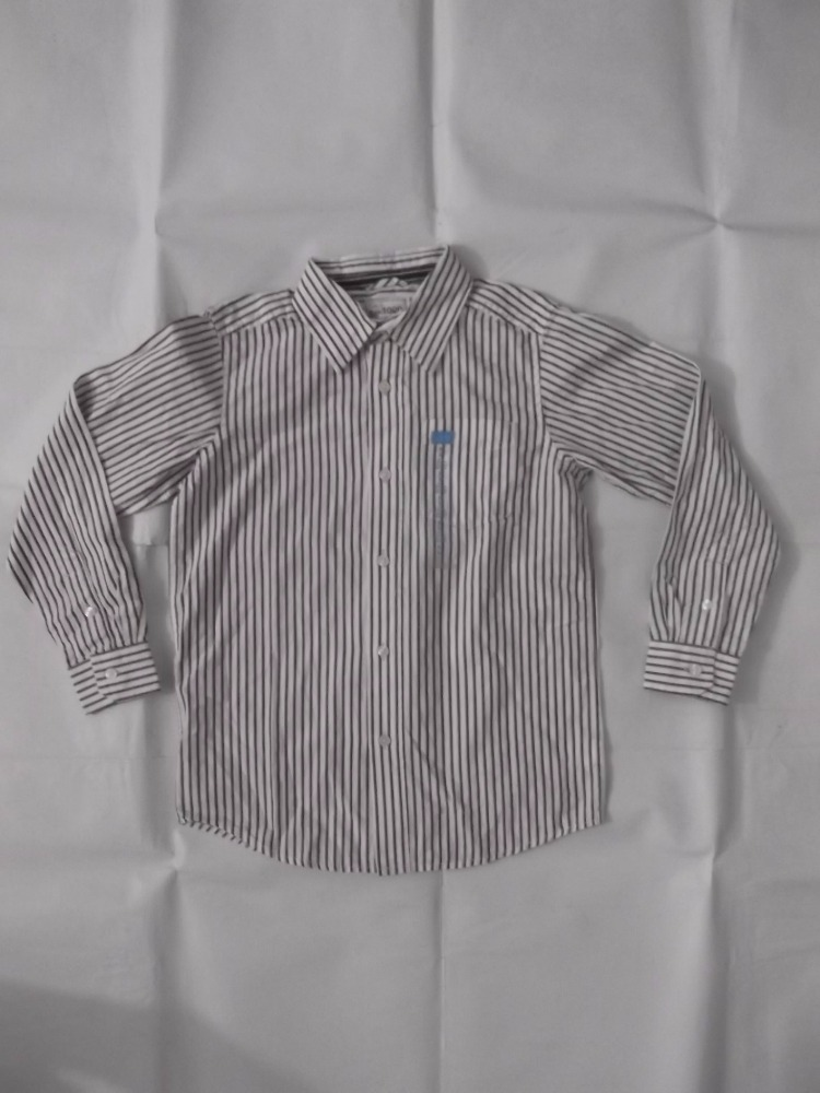 BOYS L/S 1PKT SOLID, STAFF & CHECK SHIRT