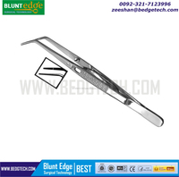 Locking Cotton and Dressing Tweezer