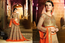 Rajasthani Praiseworthy embroidr lehenga choli--online shopping-wedding dress 10002 Mohini lehegas