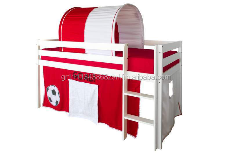 WOODEN BED GOAL, KID BED