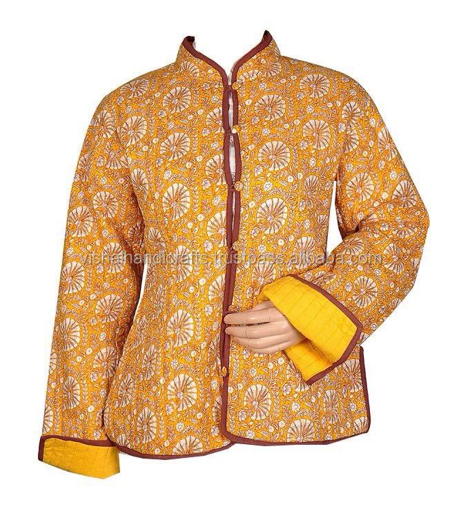 Popular new style kantha jackets winter womens