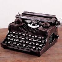 Best selling Iron Craft Model Decoration Typewriter painted 140x170mm Sold By PC