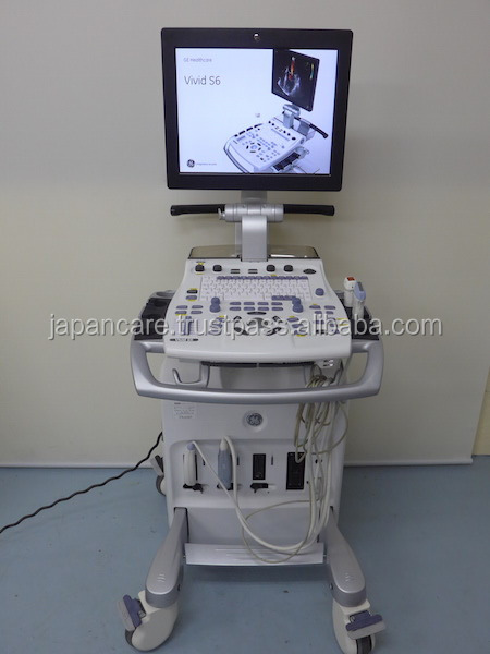 Used GE Cardiac Ultrasound Vivid S6