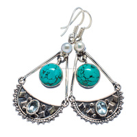 BOHO JEWELRY!! Tibetan Turquoise ,925 sterling silver jewelry wholesale SILVER JEWELRY FROM INDIA