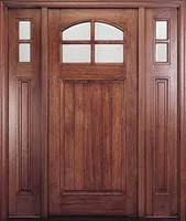 Mahogany Solid Wood Doors