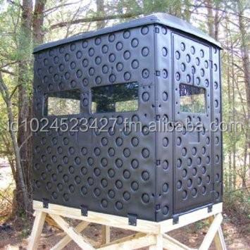 4x6 Double Wall Hunting Blind w/Optional Window and Shelf Kit