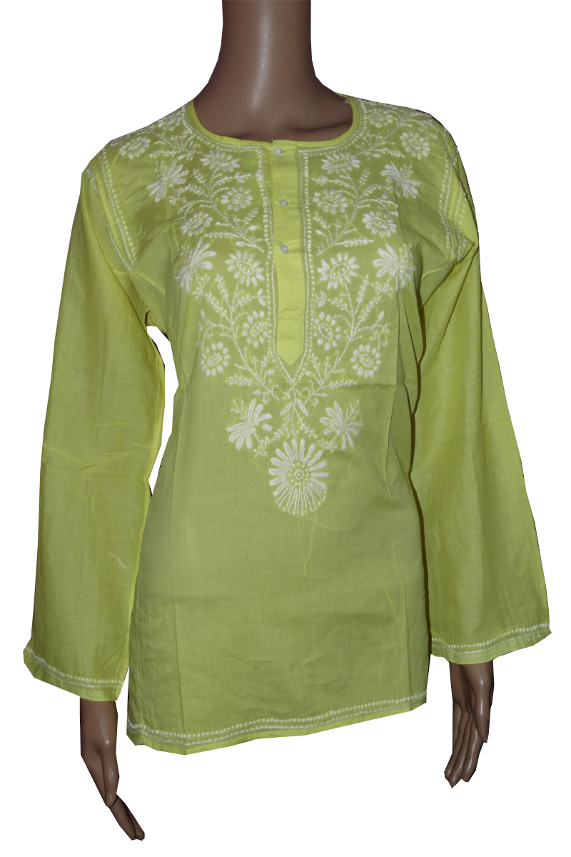 Wholesale Lot Cotton Chikan Kurta