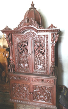 Indian wooden altar for home temple