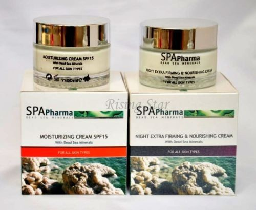 Spa Pharma Dead Sea Minerals Collagen Anti Aging Cream Firming Cosmetics Sealed