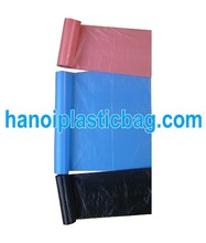 NON PRINTING STAR SEAL GARBAGE BAG ON ROLL PLASTIC MATERIAL VIET NAM
