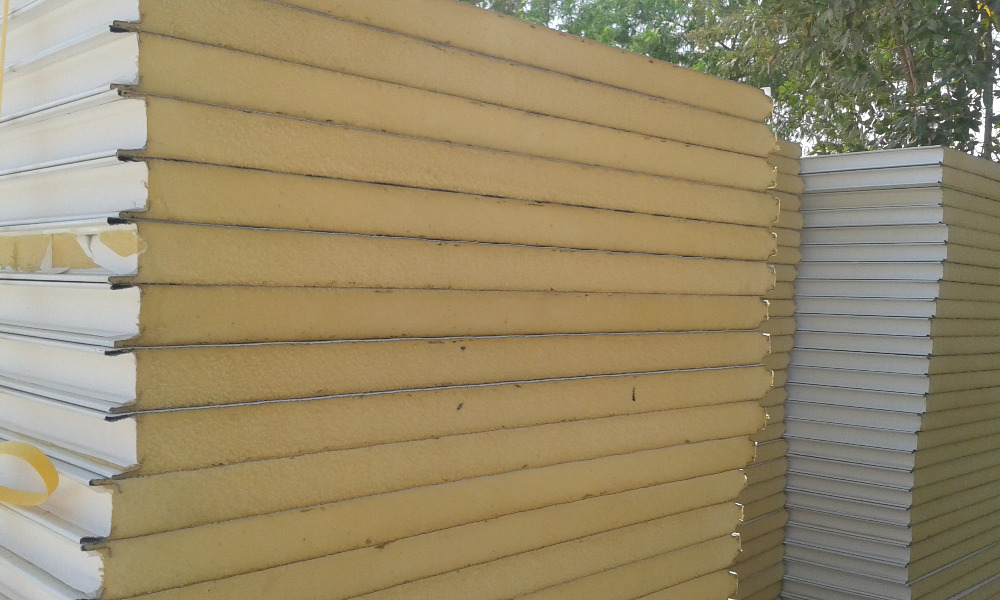 Tile Profile Trapezoidal Corrugated Flat Sandwich