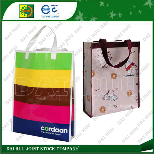 PP woven foldable shopping bags