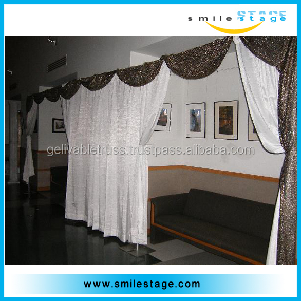 Used Portable Photo Booth Kits Pipe and Drape