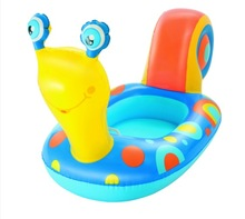 POOL TOY SNAIL BOAT FLOAT
