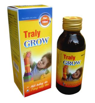 BEST SELLER-TRALY GROW SYRUP FOR KID,DHA, Taurine help to develop the brain, eye retina