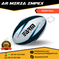 Custom Optimum Hand Stitched Standard Train Rugby Ball