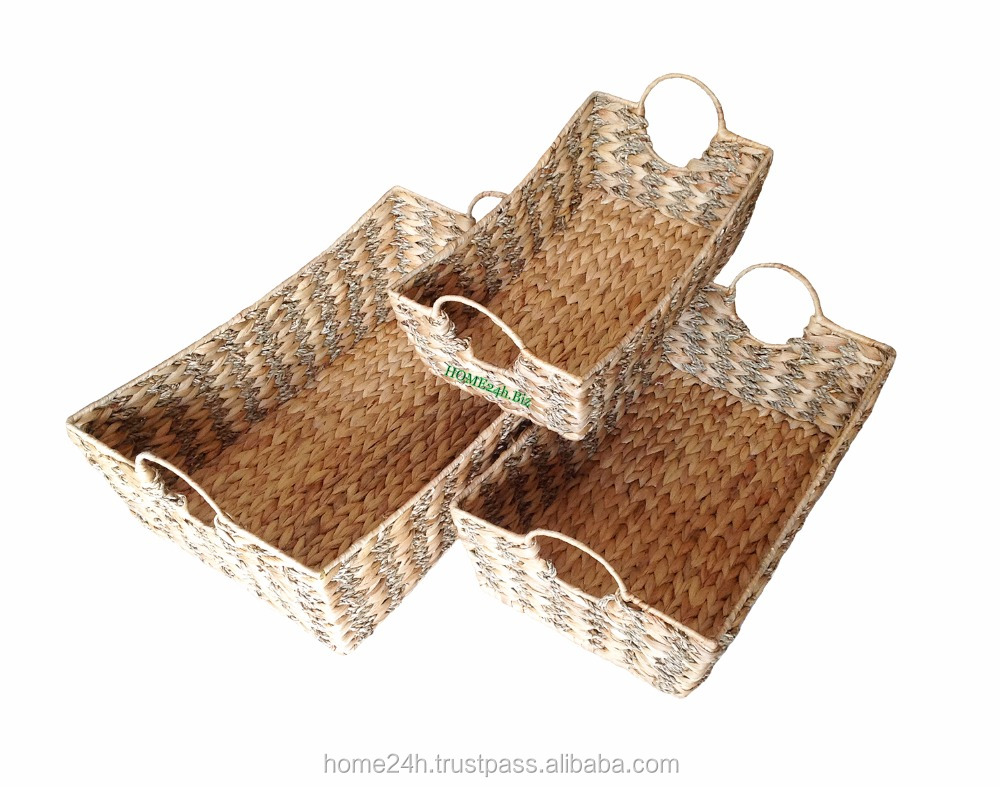 Water Hyacinth and Seagrass baskets