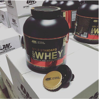 OPTIMUM NUTRITION GOLD STANDARD 100% WHEY (10 LB) protein isolate powder bcaa on