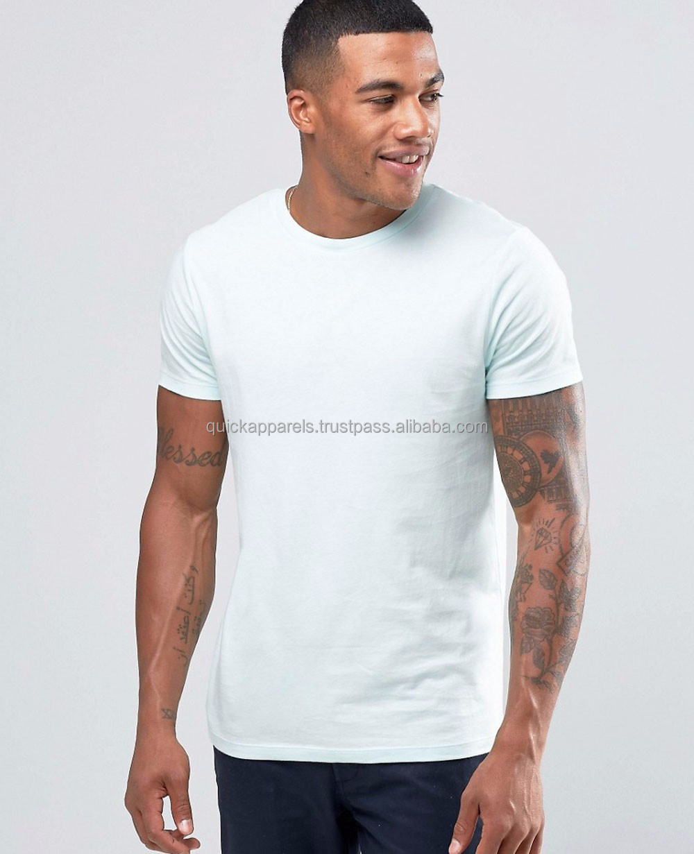STEEL GREY 100% High-Grade, soft touch, breathable & crease proof polyester BREATHEASY mens t shirts custom