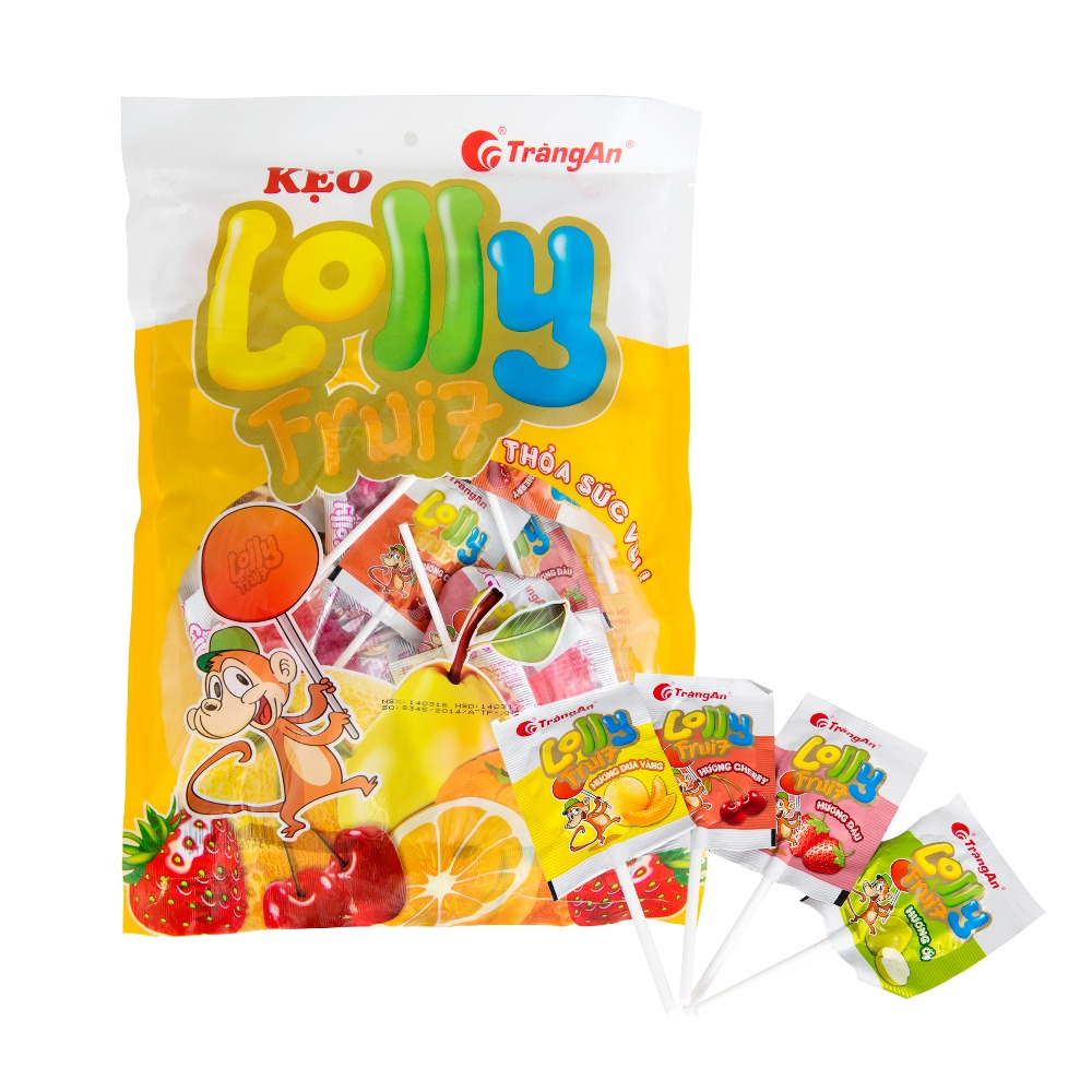 Lolly Fruit Candy 72g
