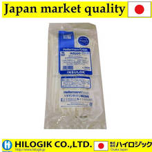 Hellermanntyton cable ties Insulation lock AB200 100P Milky white For indoor insulok made in JAPAN