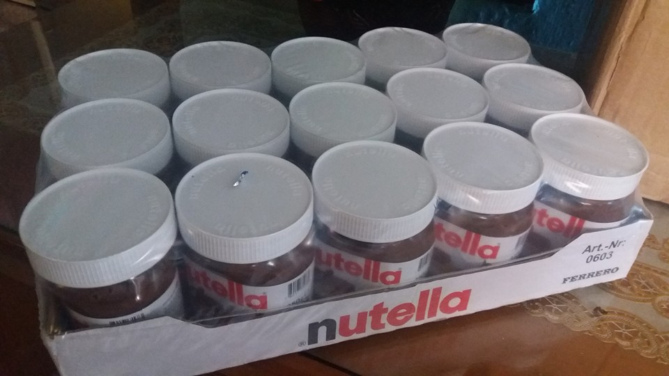 EU Quality Nutella Ferrero Chocolate