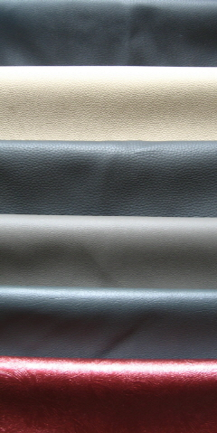 PVC Car Seat Leather Stock for Car Seat Cover Fabric