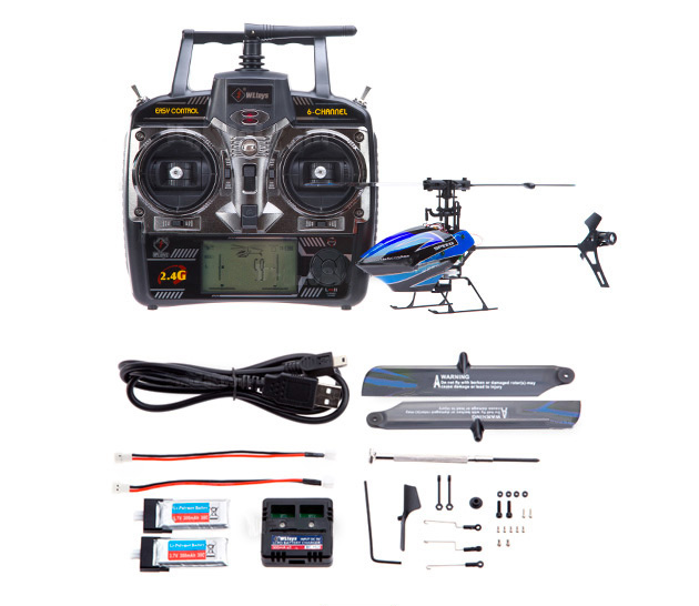 2013 Newest WL V922 RC Helicopter 6CH